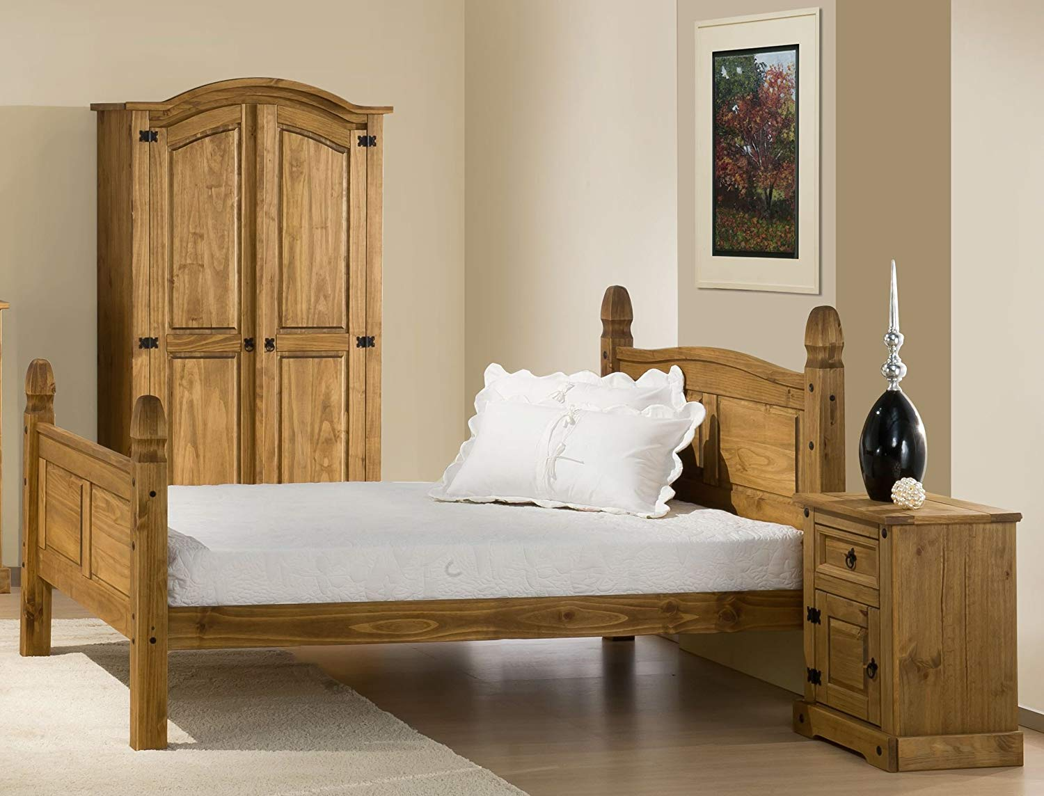 Chunky Mexican Pine Bed Frame All About Beds