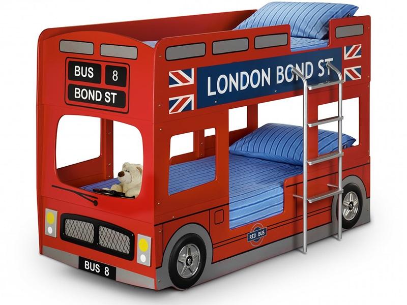 London Bus Bunk Bed-0