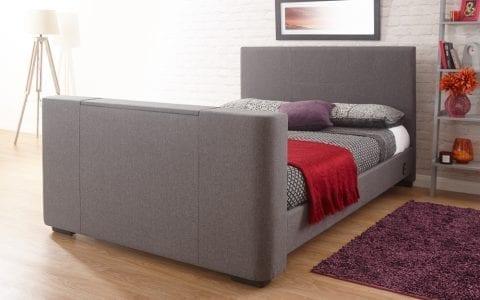 Newark Grey Tv Bed-0