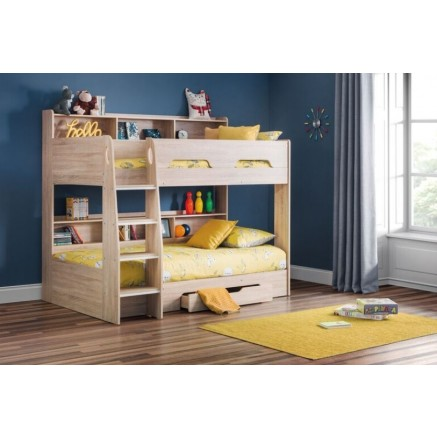 Orion bunk bed in oak -0