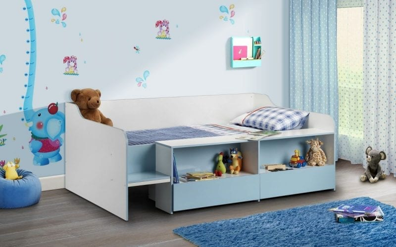Stella Low Sleeper in Blue and white -0