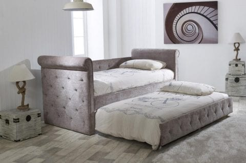 Lb40 Plush Day Bed With Trundle-0