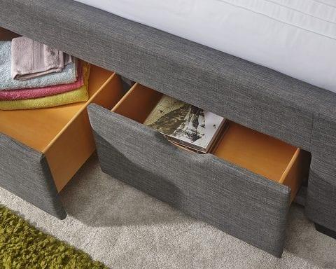 Coven drawer bed frame -3537