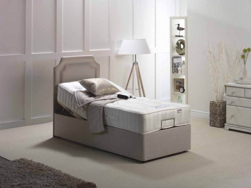 Balmoral 1200 Natural pocket electric bed-0