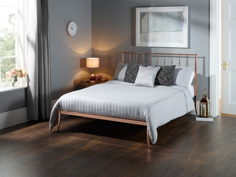 Jupiter Bed Frame Rose Gold -0