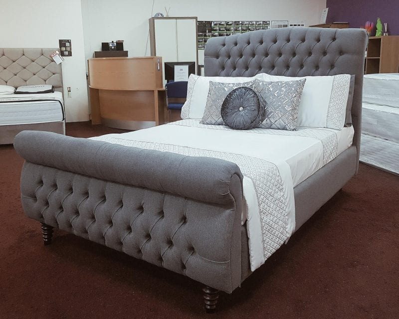 Revival Hand Made Scroll Bed-0