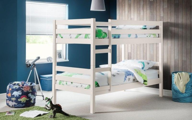 Camden Bunk Bed in White-0