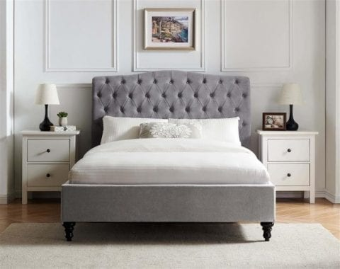 Aurora sleigh in light grey LB60-3734