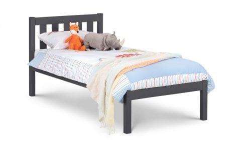 Luna Slate Black Bedframe -3835