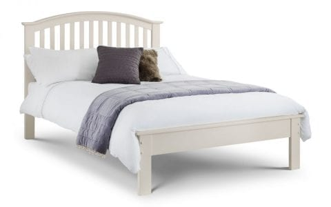 OLI Off White Curved Bedframe -0