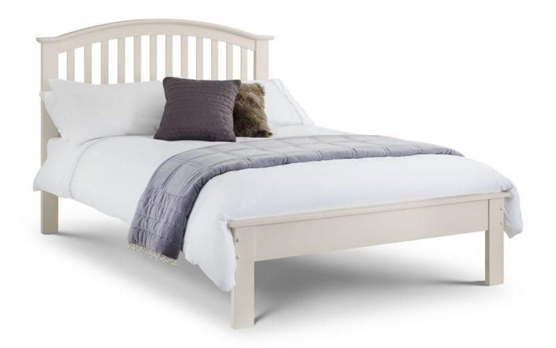 OLI Off White Curved Bedframe -0
