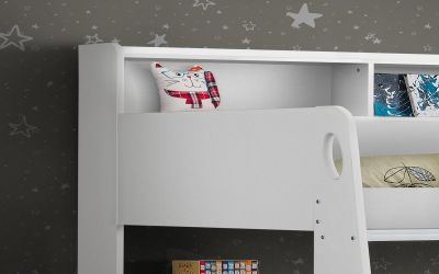 Orion bunk bed in Brilliant White -3707