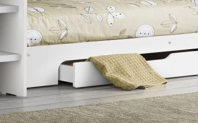 Orion bunk bed in Brilliant White -3708