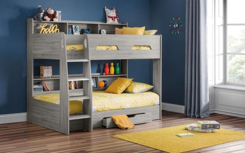 Orion bunk bed in grey oak -0