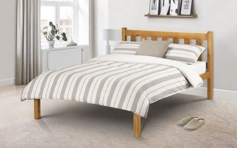 POP Solid Pine Shaker Bed -0