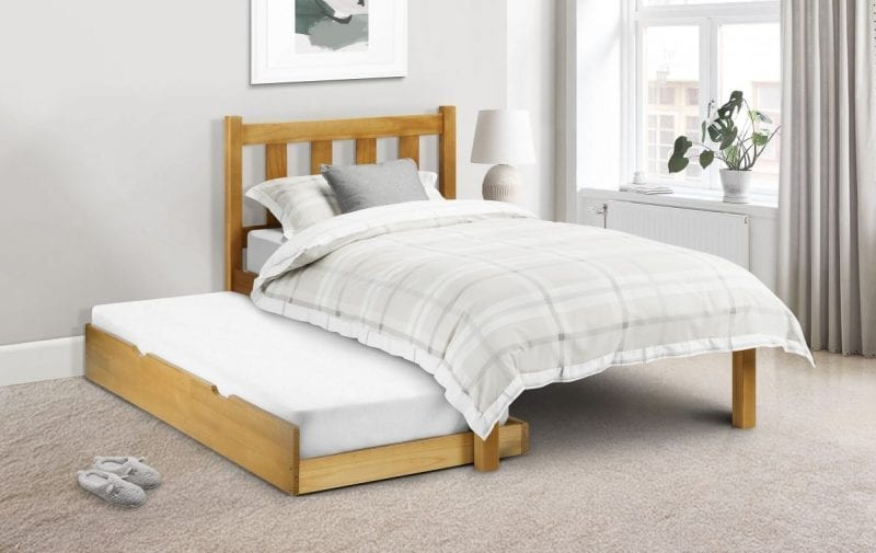 POP Solid Pine Shaker Bed -3820