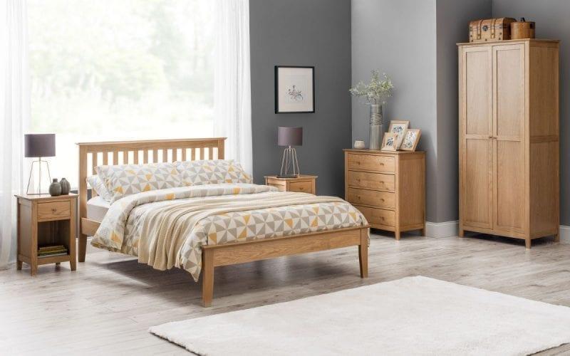 Salsbury Oak bed frame -0