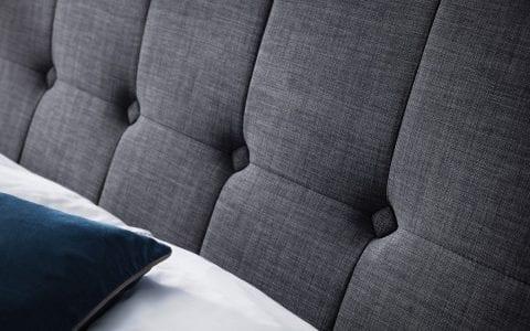 SOR High headboard bedframe in grey slate -3789