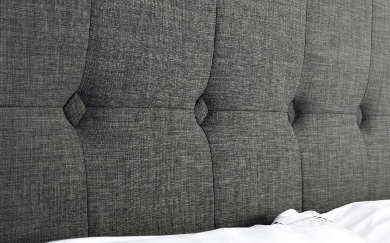 SOR Ottoman storage bedframe in grey slate -3792