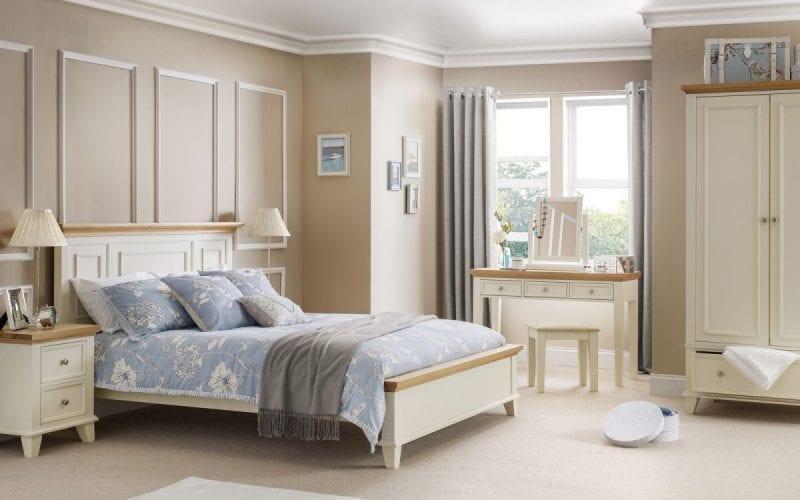 Portland Cream and Oak Combination Wardrobe -3965