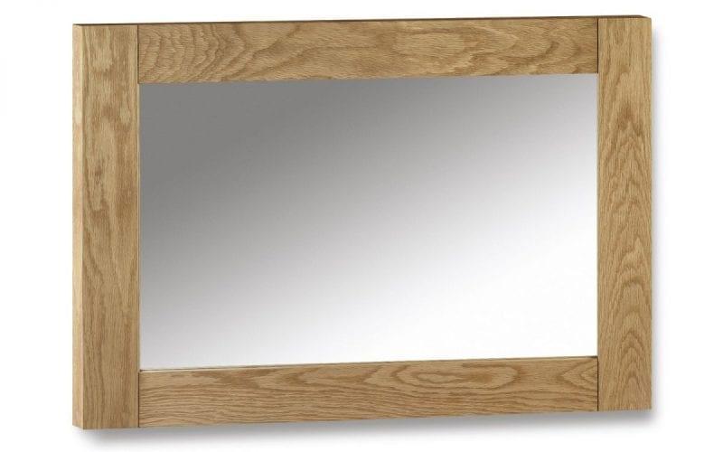 Lola Oak Wall Mirror -0