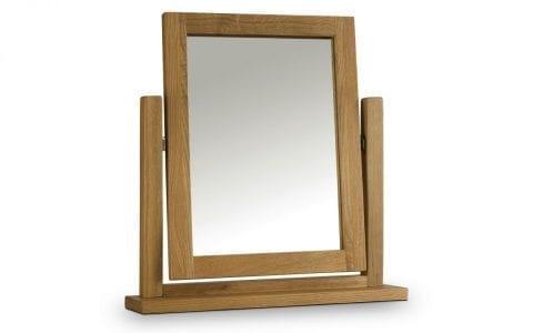 Lola Oak Dressing Table Mirror -0