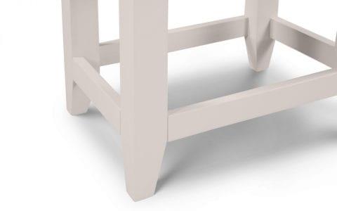 Richmond Dressing stool in Elephant Grey -3994