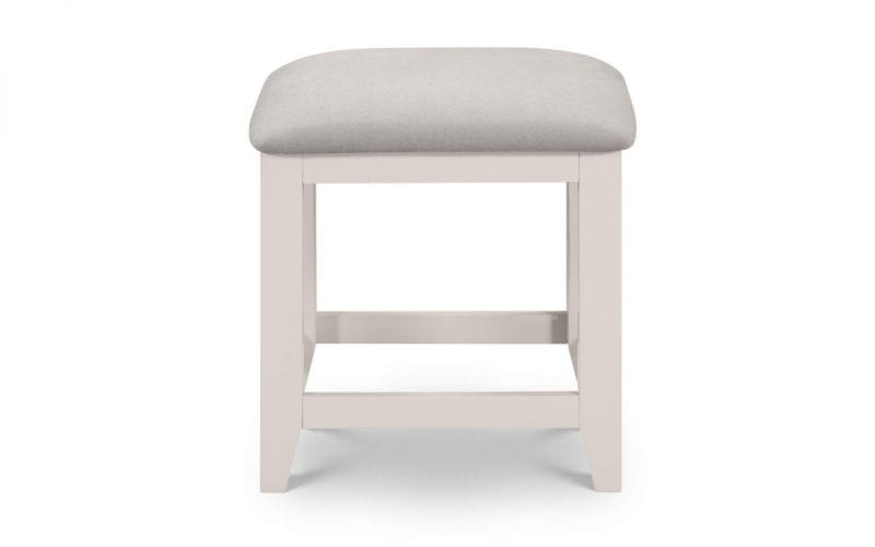 Richmond Dressing stool in Elephant Grey -3993