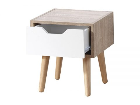 Stockholm 1 Drawer Nightstand -4104