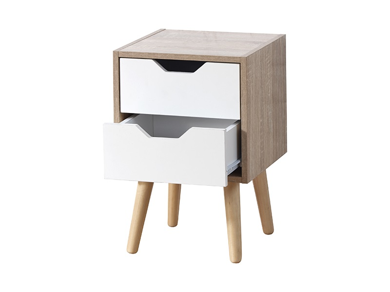 Stockholm 2 Drawer Nightstand -4107