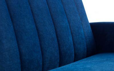 Affinity Plush Royal Blue Sofa Bed -4202