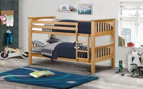 Shaker Deluxe Bunk Bed in Pine -0