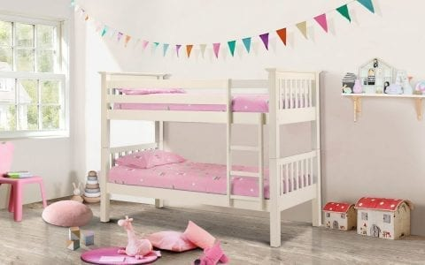 Shaker Deluxe Bunk Bed in Off White -0