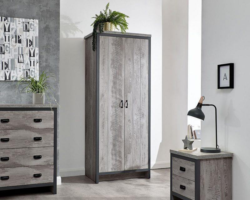 Boston 3 Piece Bedroom Set in Grey -0