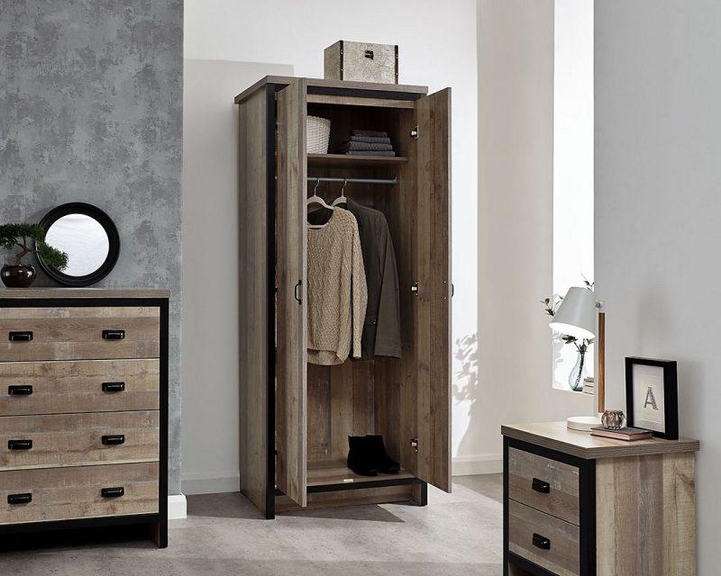 Boston 3 Piece Bedroom Set in Oak -4162