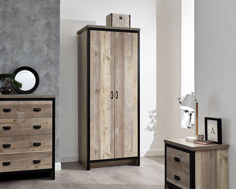 Boston 3 Piece Bedroom Set in Oak -0