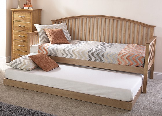 Madrid Wooden Day bed in White-4232
