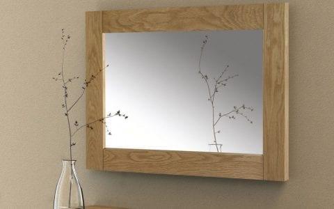 Lola Oak Wall Mirror -3901