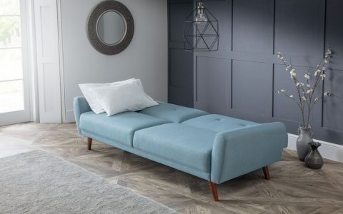 Monsoon Modern Sofa Bed in Blue -4187