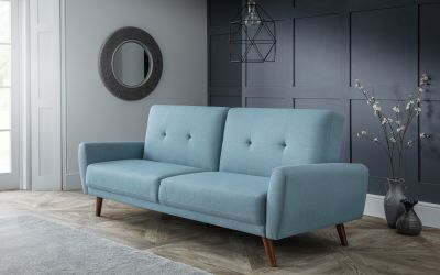 Monsoon Modern Sofa Bed in Blue -0