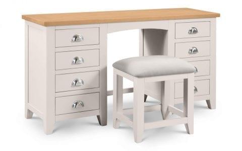 Richmond Dressing stool in Elephant Grey -3995