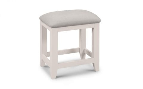 Richmond Dressing stool in Elephant Grey -0