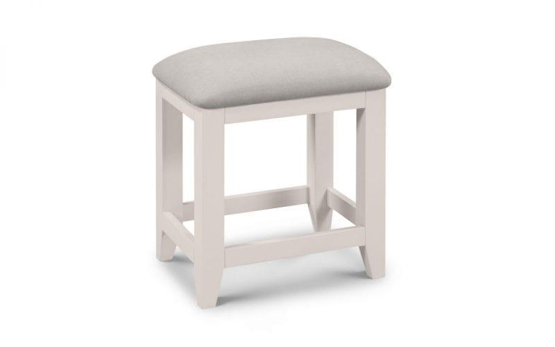 Richmond Dressing stool in Elephant Grey -0