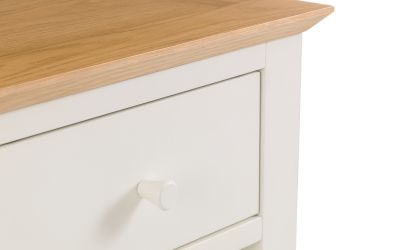 Salerno Cream and Oak 2 Door Robe -4035