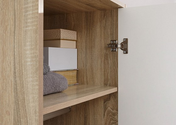 Stockholm 1 Door Wardrobe -4112