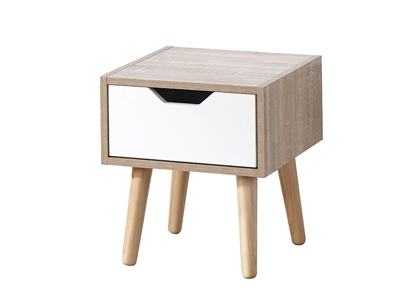 Stockholm 1 Drawer Nightstand -0
