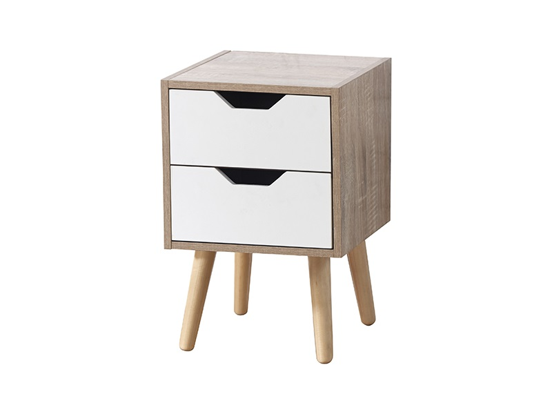 Stockholm 2 Drawer Nightstand -0