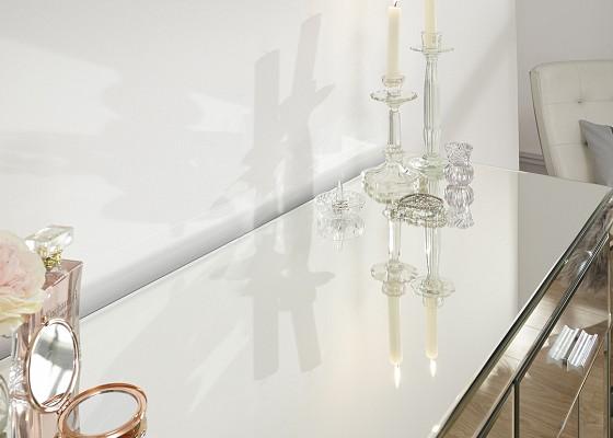 Venetian 2 Drawer Mirrored Dressing Table -4119