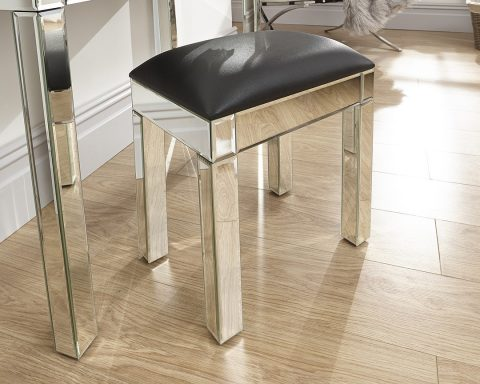 Venetian Mirrored Stool -0