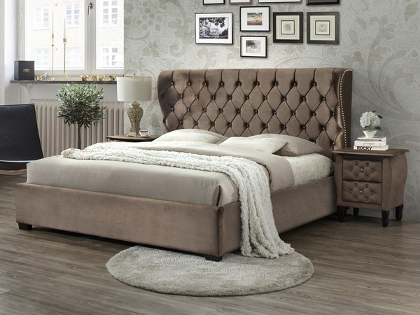 Infinity Bed Frame in Mink-0